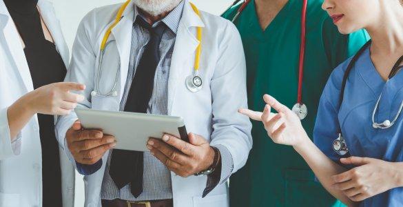 Interdisziplinäres Ärzteteam